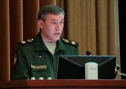 глава Генерального штаба Военных сил России генерал армии Валерий Герасимов
