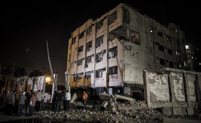 В Каире ночью прогремел мощный взрыв