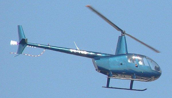 Частный вертолет упал в Москва-реку