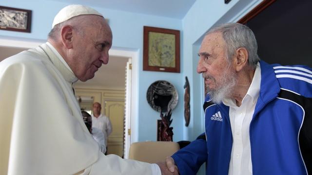 В Гаване Папа Римский встретился с Фиделем Кастро