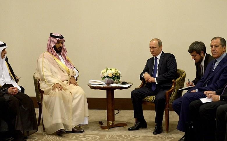 переговоры Путина с Мухаммадом ибн Салманом Аль Саудом в Сочи