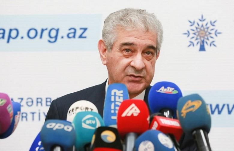 вице-премьера Азербайджана Али Ахмедов