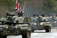 Против кого нацелены учения британской армии?