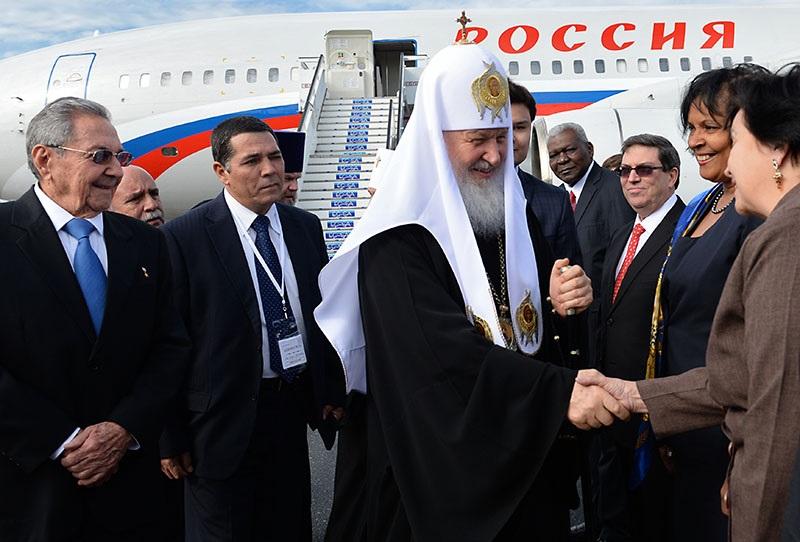 В Гавану прибыли патриарх Кирилл и папа Римский