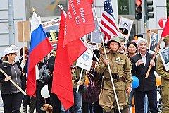«Бессмертный полк» шагает по улицам американских городов