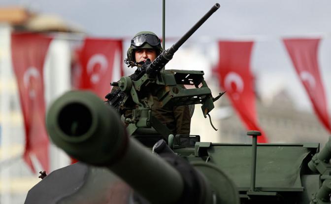 Турция может начать наземную операцию против Сирии