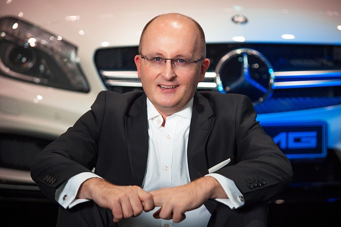 Глава Mercedes-Benz в России Ян Мадея. Фото:  gazeta.ru