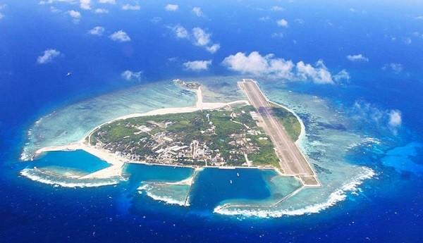 Остров Спрайтли, акватория Южно-Китайского моря, Фото: dergachev.ru