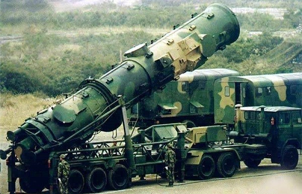 Баллистические противокорабельные ракеты Дунфэн DF21d (Китай), Фото: topwar.ru