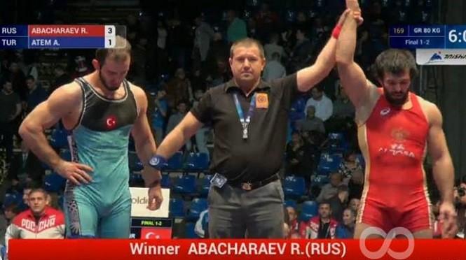 Рамазан Абачараев - Чемпион мира в греко-римском стиле. Фото:  wrestlingua.com
