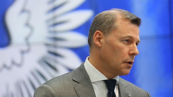 Глава «Почты России» Дмитрий Страшнов. Фото:  НТВ