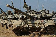 Российские военные базы в Абхазии и Армении подняты по тревоге