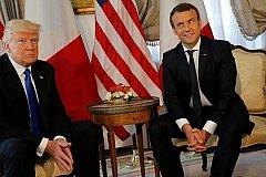 На новую химатаку в Сирии Трамп и Макрон ответят вместе