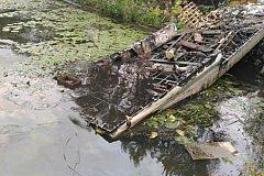 В Калининградской области произошла утечка нефтепродуктов