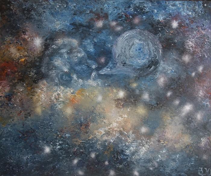 Картина «Nebula contemporary art»