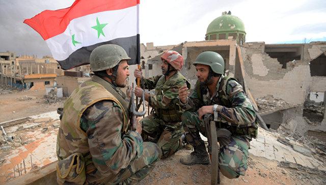 Сирийская армия отбивает новые территории у ИГ