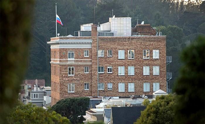 Генеральное консульство Российской Федерации в Сан-Франциско, США. Фото:  РБК