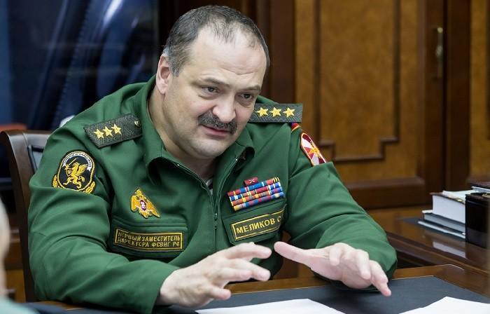 Замдиректора Росгвардии Сергей Меликов. Фото: rosgvard.ru