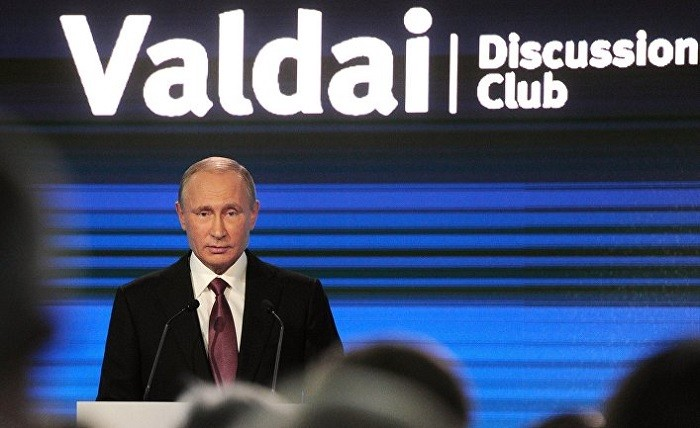 Президент России Владимир Путин. Фото:  inosmi.ru