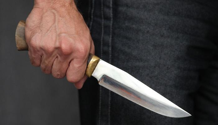 В Волгоградской области вооруженный ножом мужчина ранил полицейских