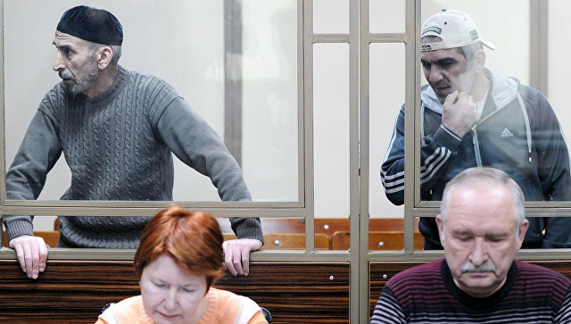 Рамзан Белялов и Магомед Маздаев. Фото: ria.ru