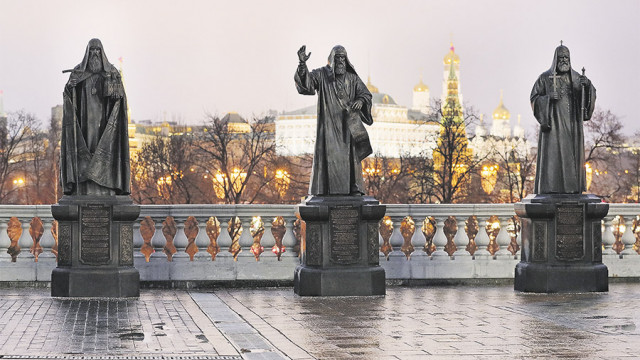 В Москве установят памятники предстоятелям РПЦ