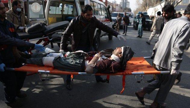 110 человек пострадали при взрыве в Кабуле