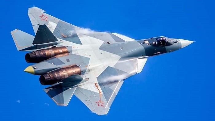 Новейший многоцелевой Су-57. Фото: speedme.ru