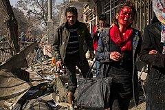 Подорвавший себя в Кабуле террорист убил 57 человек