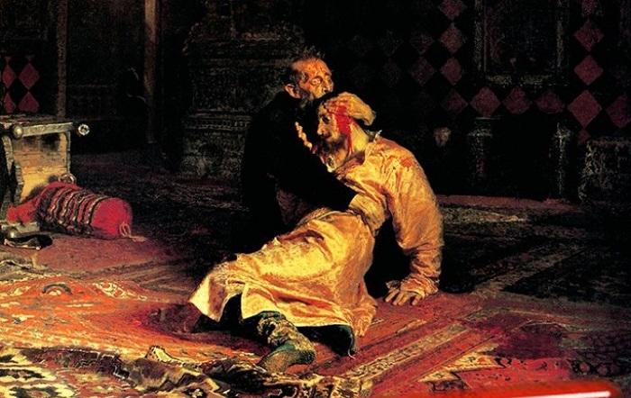 ЧП в Третьяковской галерее. Вандал изрезал картину Репина