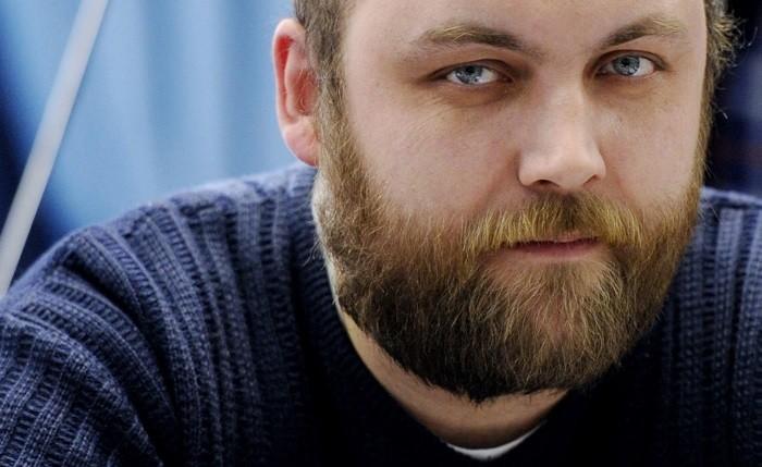 Координатор движения «Синие ведерки» Петр Шкуматов. Фото: novayagazeta.ru