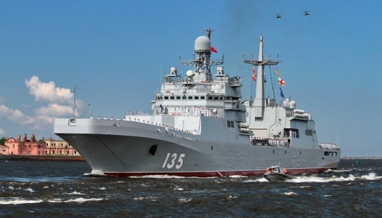 Большой десантный корабль «Иван Грен». Фото: korabel.ru