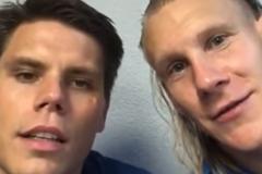 Хорватские футболисты: «Слава Украине! Эта победа за Украину». ВИДЕО