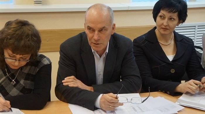 Игорь Озимок в центре. Фото: MagadanMedia