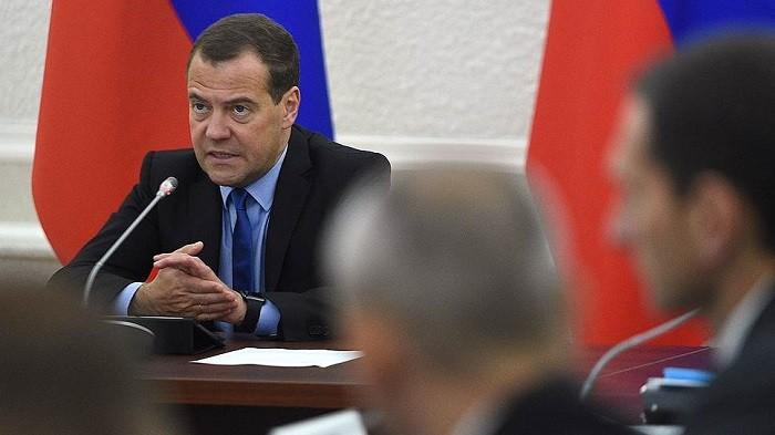 Премьер-министр России Дмитрий Медведев. Фото:   kommersant.ru