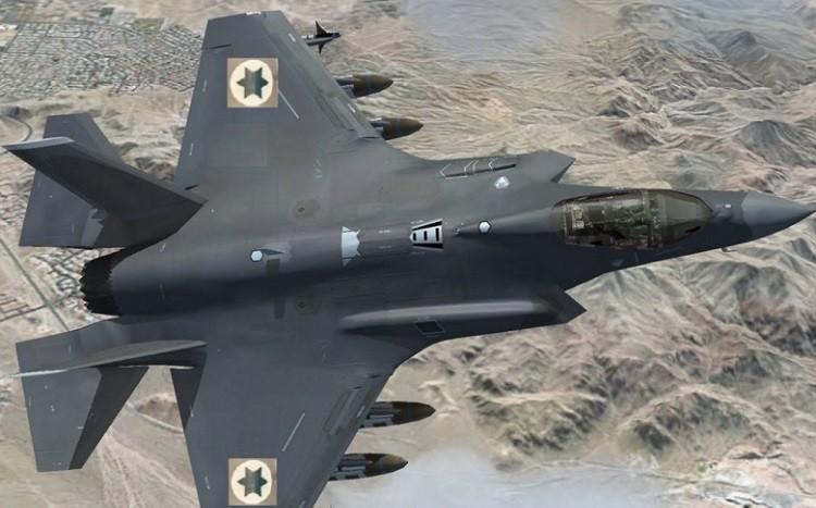 Фото: Истребитель F-35 BBC Израиля