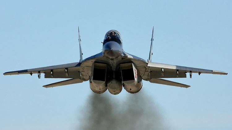 В Подмосковье потерпел крушение МиГ-29