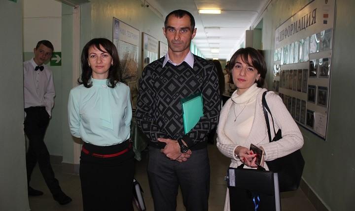 Слева направо – Марина Фролова, Руслан Балкаров, Рица Зельницкая (Шларба)