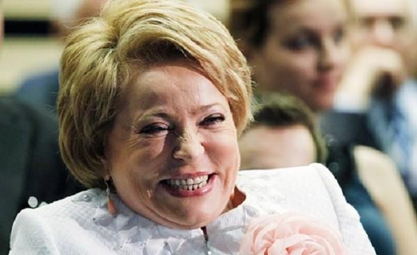 Председатель Совета Федерации Валентина Матвиенко. Фото: vbloknot.com