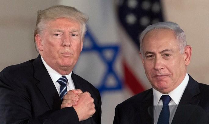 Президент США Дональд Трамп и премьер-министр Израиля Беньямин Нетаньяху