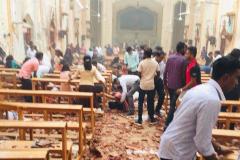 Десятки мирных граждан погибли в результате терактов на Шри-Ланке