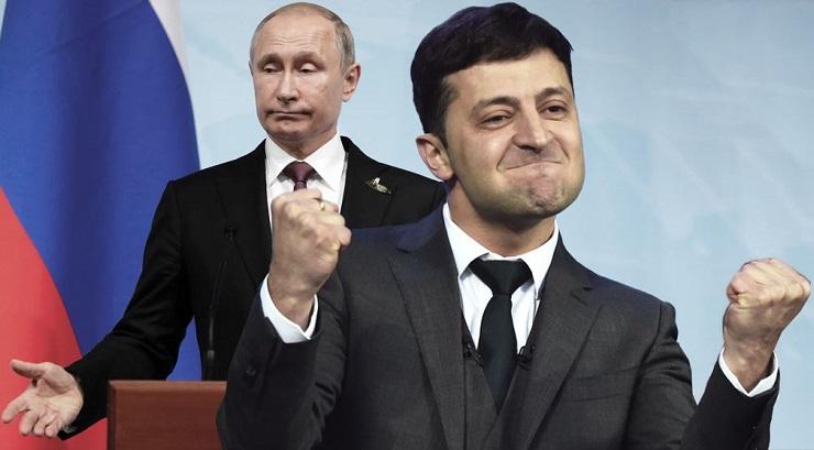 Путин о Зеленском: он хороший актёр