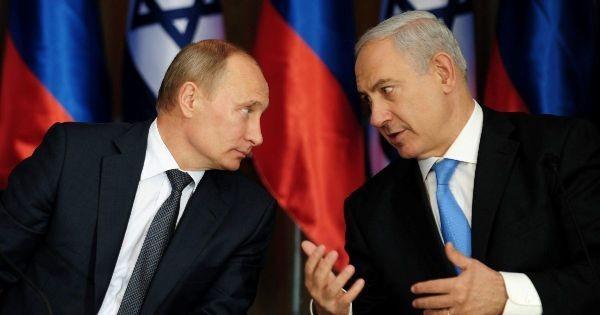 Владимир Путин и Беньямин Нетаньяху. Фото: