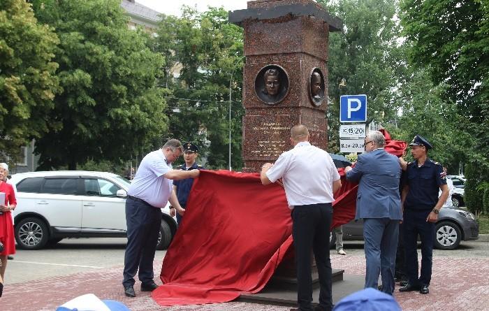 Церемония открытия мемориала