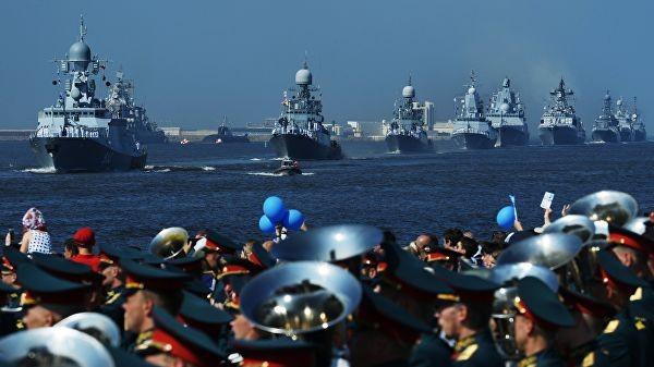 Парад ВМФ России в Санкт-Петербурге. Фото: ria.ru