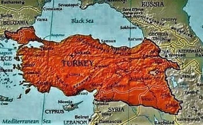 Турция в представлении Эрдогана. Фото: foreignpolicy.com