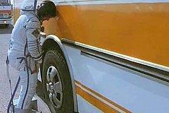 Космонавтам уже не получится торжественно «отлить» на колесо автобуса перед стартом