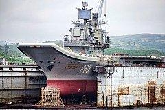 Мурманские судостроители намерены модернизировать «Адмирал Кузнецов» раньше срока