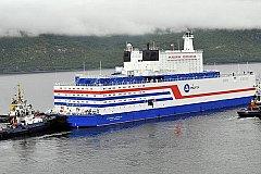На Чукотку прибыл плавучий атомный энергоблок «Академик Ломоносов»
