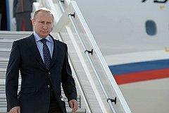 В Дагестан прилетел Владимир Путин